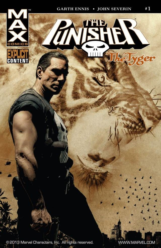 Punisher: The Tyger Vol 1 1