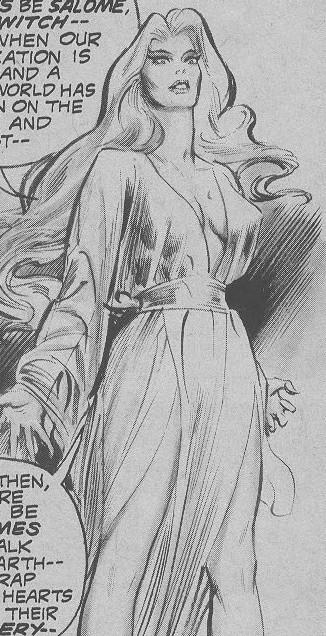 Salome (Khauran) (Earth-616)/Gallery