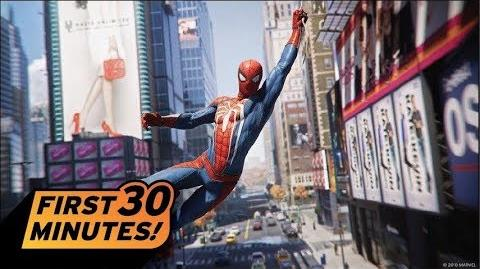 Spider-Man - First 30 Minutes - PS4