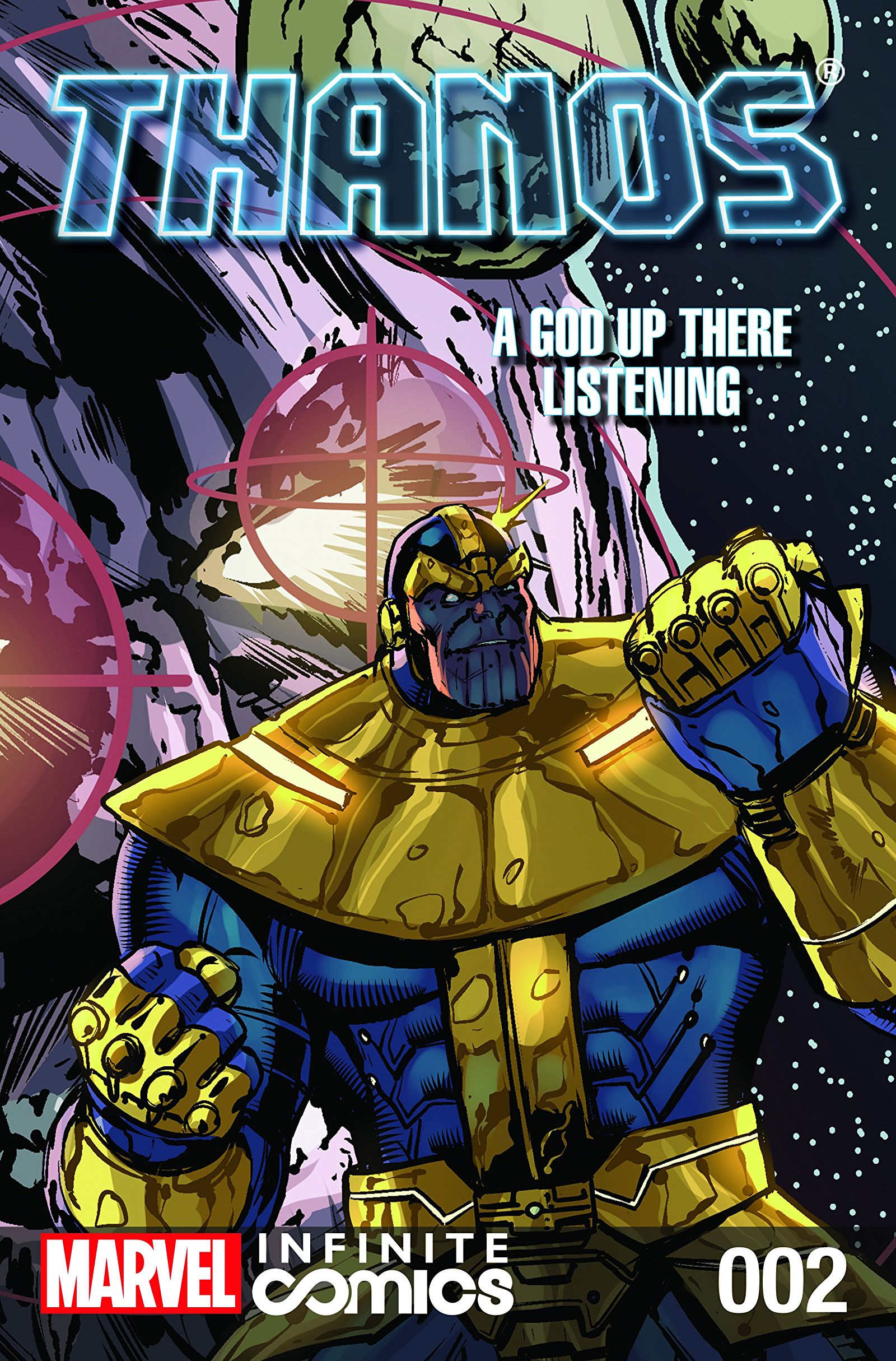 Thanos: A God Up There Listening Infinite Comic Vol 1 2