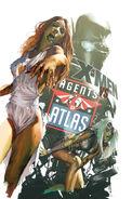 X-Men vs Agents of Atlas Vol 1 1 Zombie Variant Textless