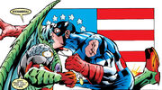 Deadpool (Wade Wilson) and Captain America (Steven Rogers) from Deadpool Vol 3 25 0001.jpg