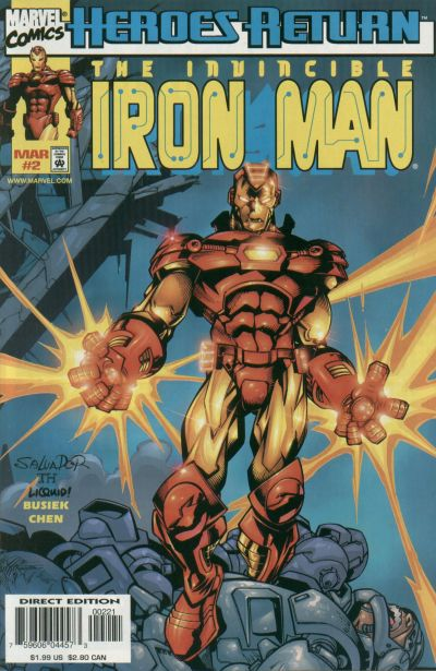 Iron Man Vol 3 2