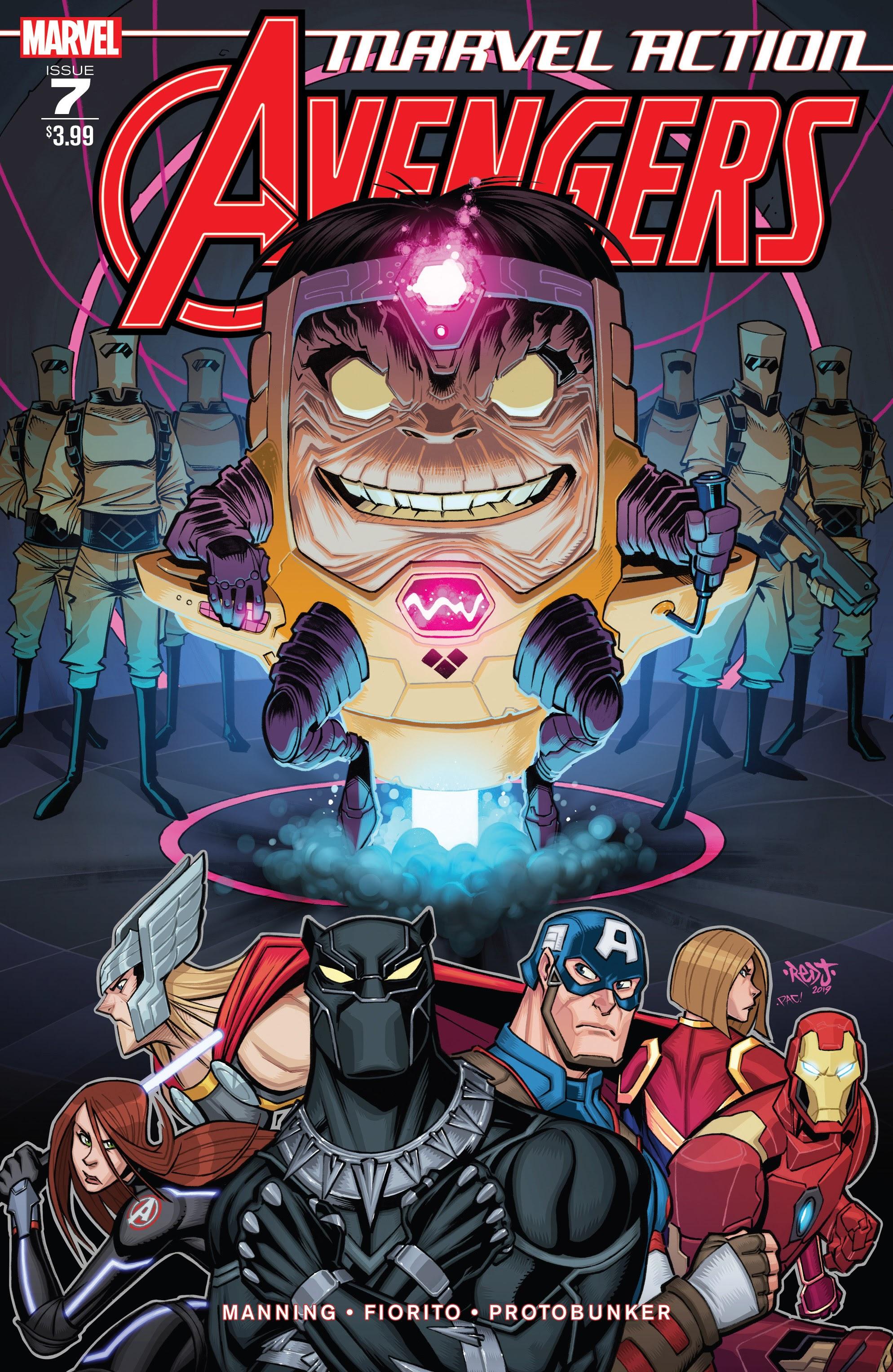 Marvel Action: Avengers Vol 1 7