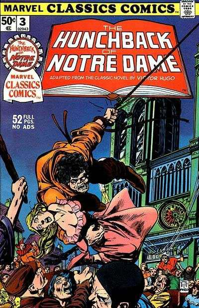 Marvel Classics Comics Series Featuring: Hunchback of Notre Dame Vol 1