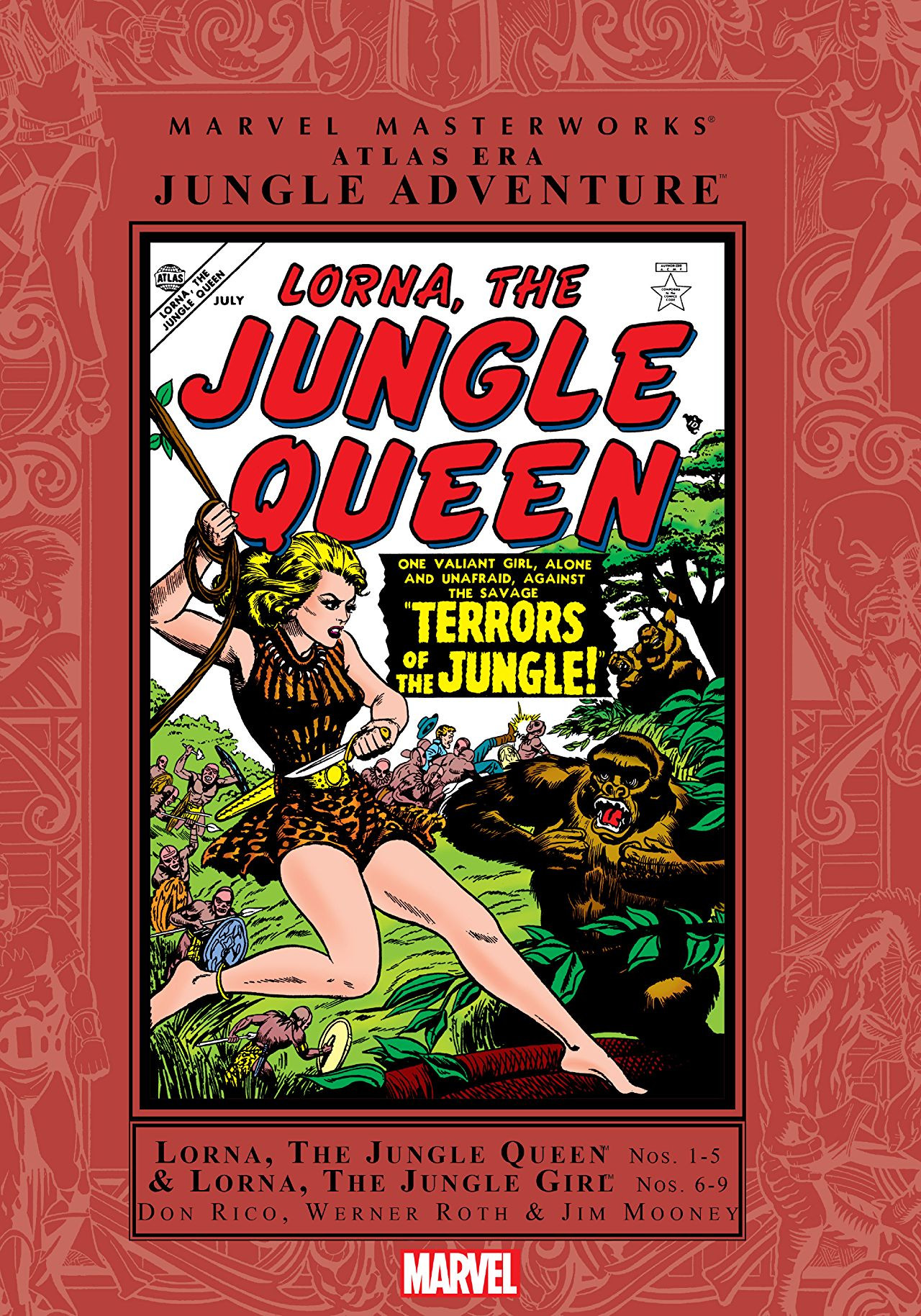 Marvel Masterworks: Atlas Era Jungle Action Vol 1 1