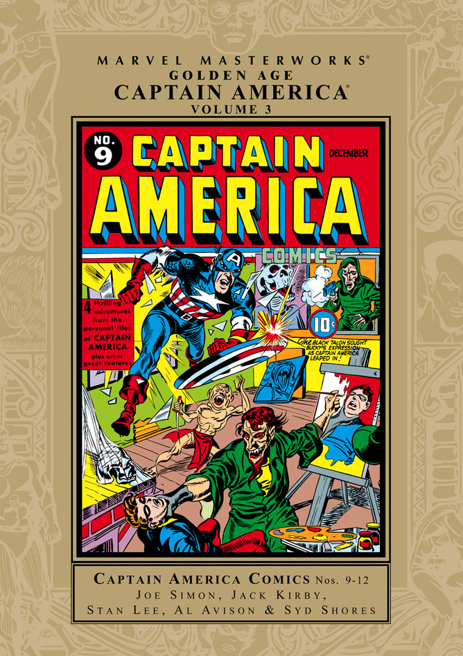 Marvel Masterworks - Golden Age: Captain America Comics Vol 1 3