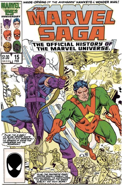 Marvel Saga the Official History of the Marvel Universe Vol 1 15