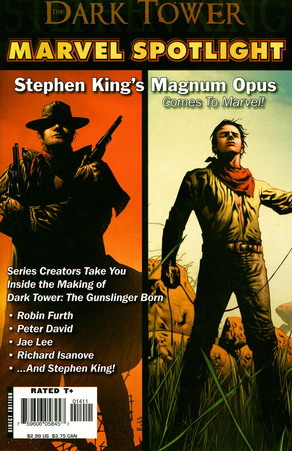 Marvel Spotlight: Dark Tower Vol 1 1