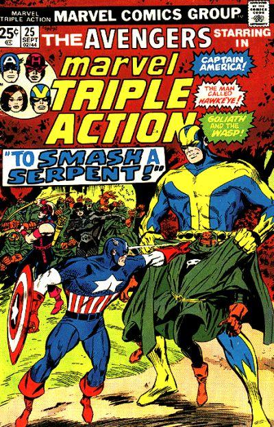 Marvel Triple Action Vol 1 25