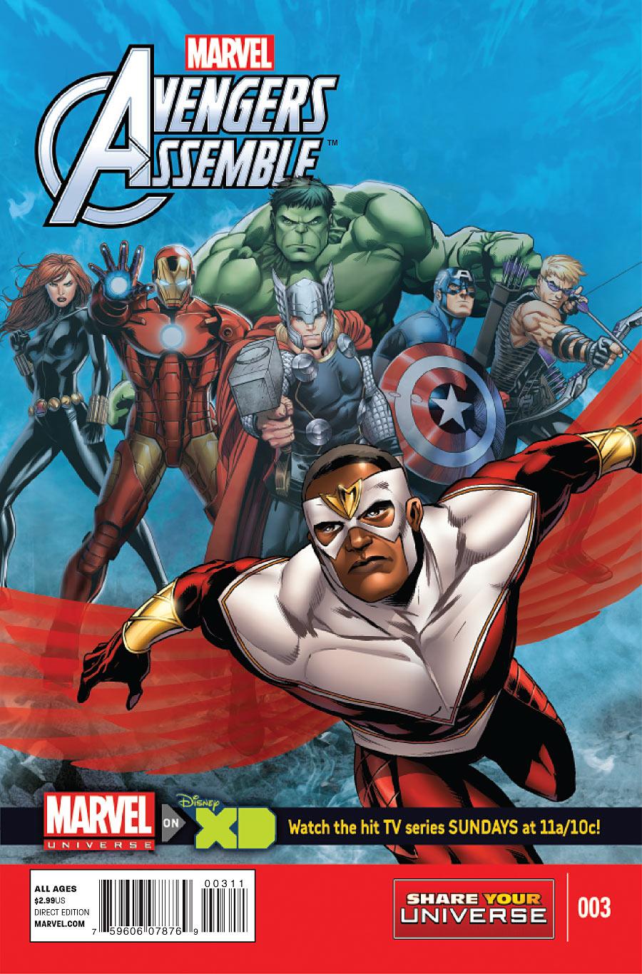 Marvel Universe: Avengers Assemble Vol 1 3