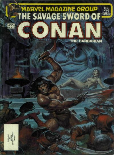 Savage Sword of Conan Vol 1 95