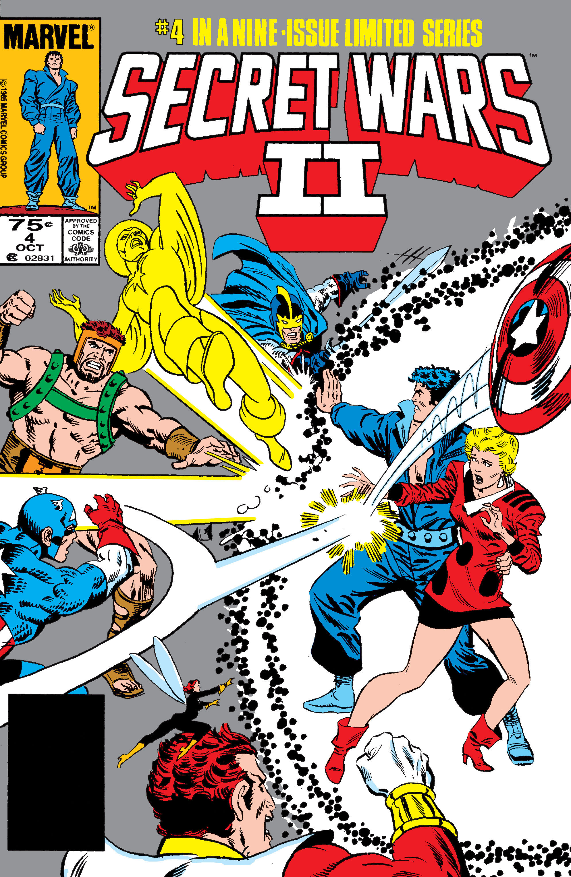 Secret Wars II Vol 1 4