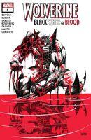 Wolverine Black, White & Blood Vol 1 1