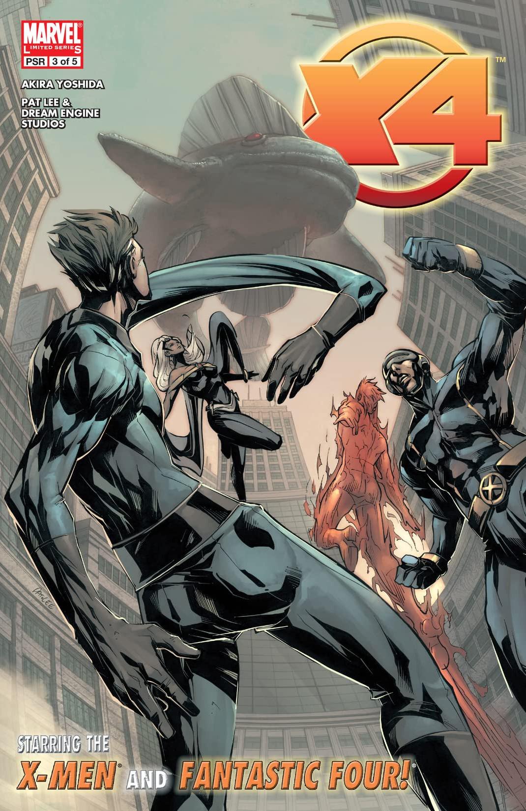 X-Men / Fantastic Four Vol 1 3