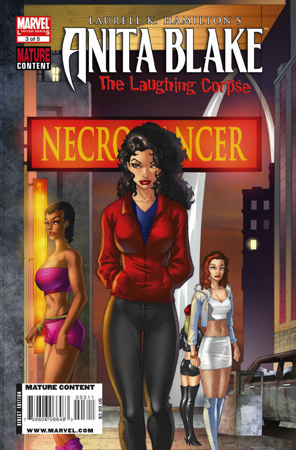 Anita Blake: The Laughing Corpse - Necromancer Vol 1 3
