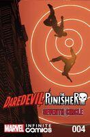 Daredevil Punisher Seventh Circle Infinite Comic Vol 1 4