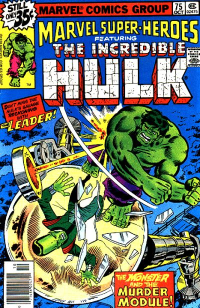 Marvel Super-Heroes Vol 1 75