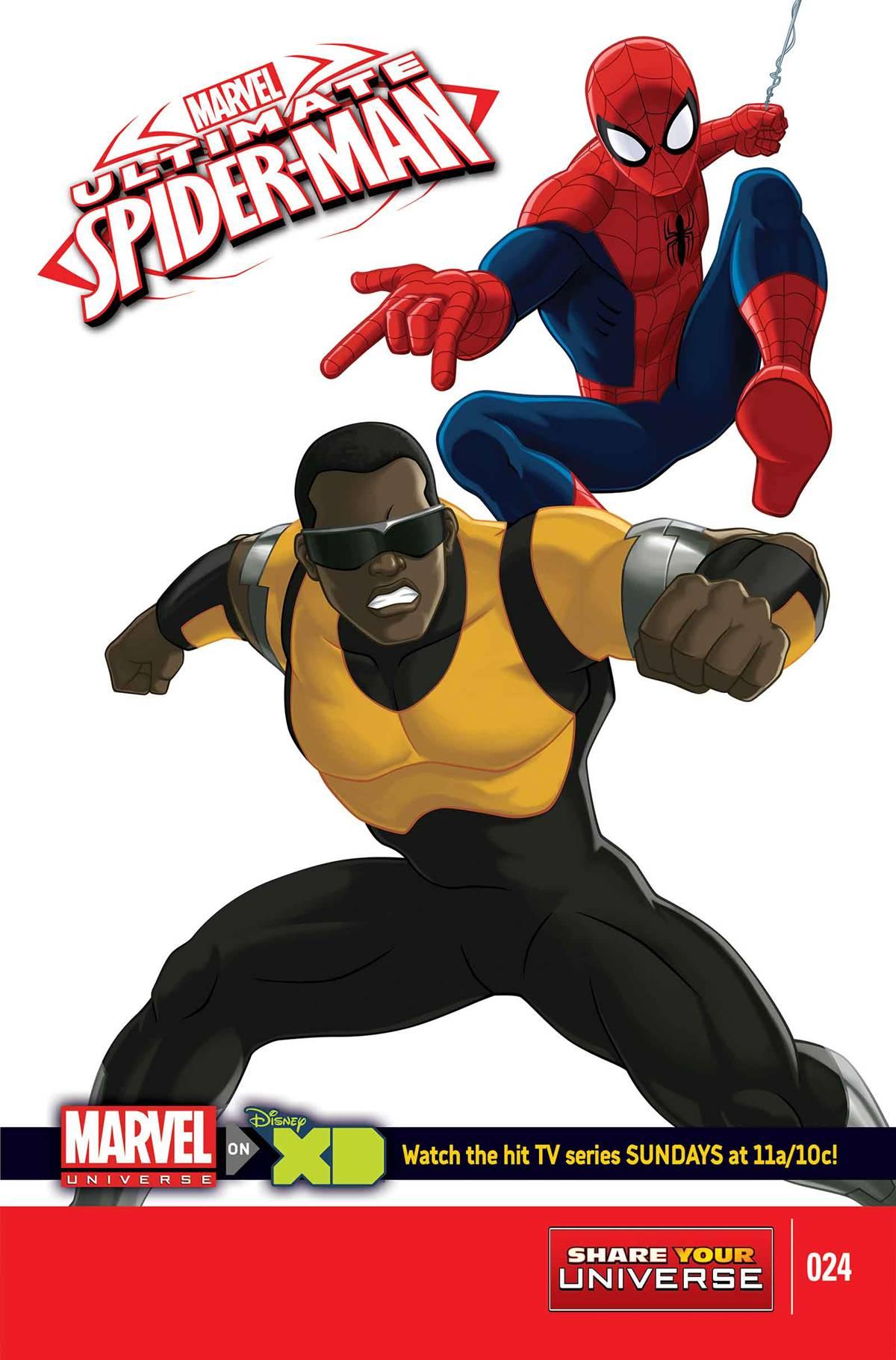 Marvel Universe: Ultimate Spider-Man Vol 1 24