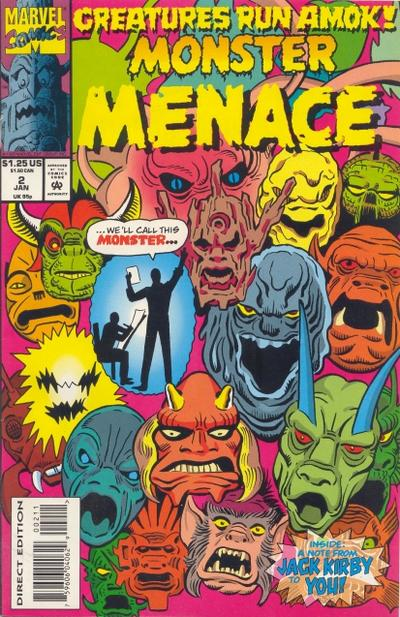 Monster Menace Vol 1 2