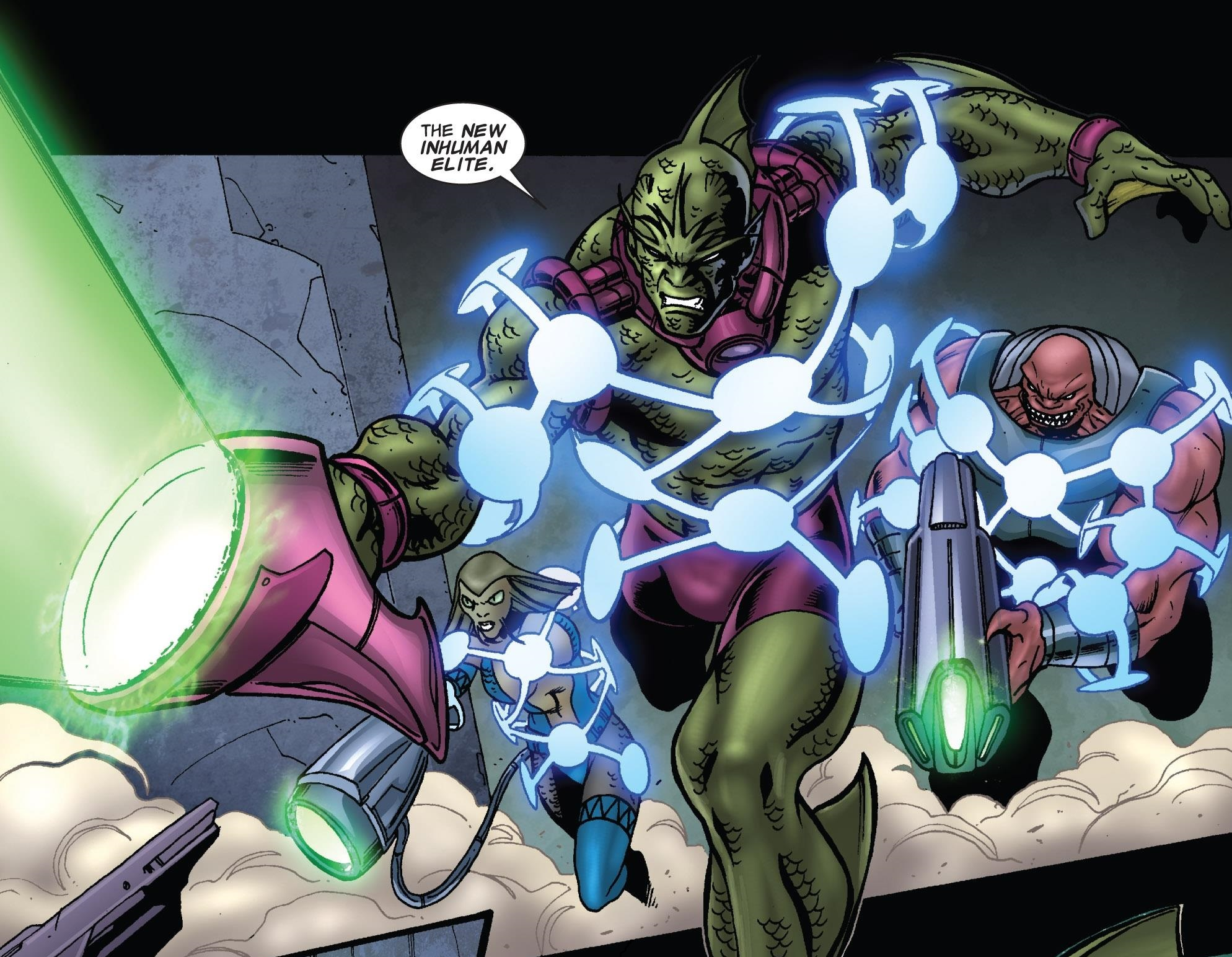 New Inhuman Elite (Earth-616)/Gallery