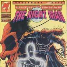 Night Man 001 October 1993 Malibu