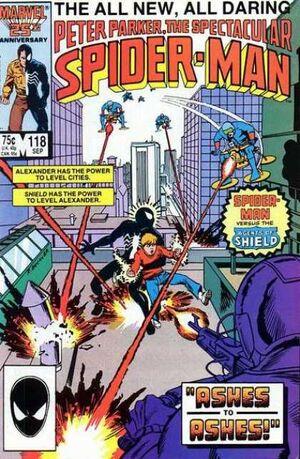 Peter Parker, The Spectacular Spider-Man Vol 1 118.jpg