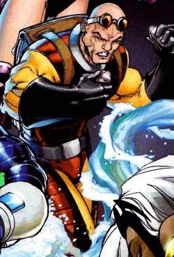 Peter Petruski (Earth-616) as Trapster from Fantastic Four Vol 1 549 cover.JPG