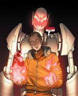Victor Mancha (Earth-616) and Ultron (Earth-616) from Runaways Vol 2 5 001