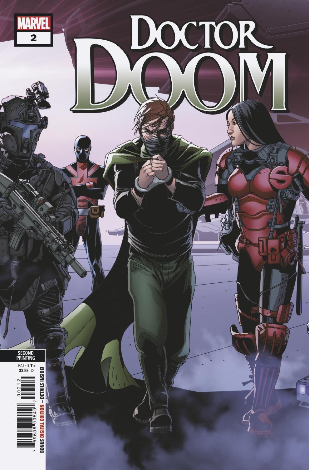 Doctor Doom Vol 1 2 Second Printing Variant.jpg