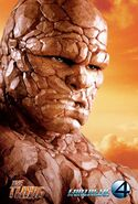 Fantastic Four Rise of the Silver Surfer (film) poster Thing 1