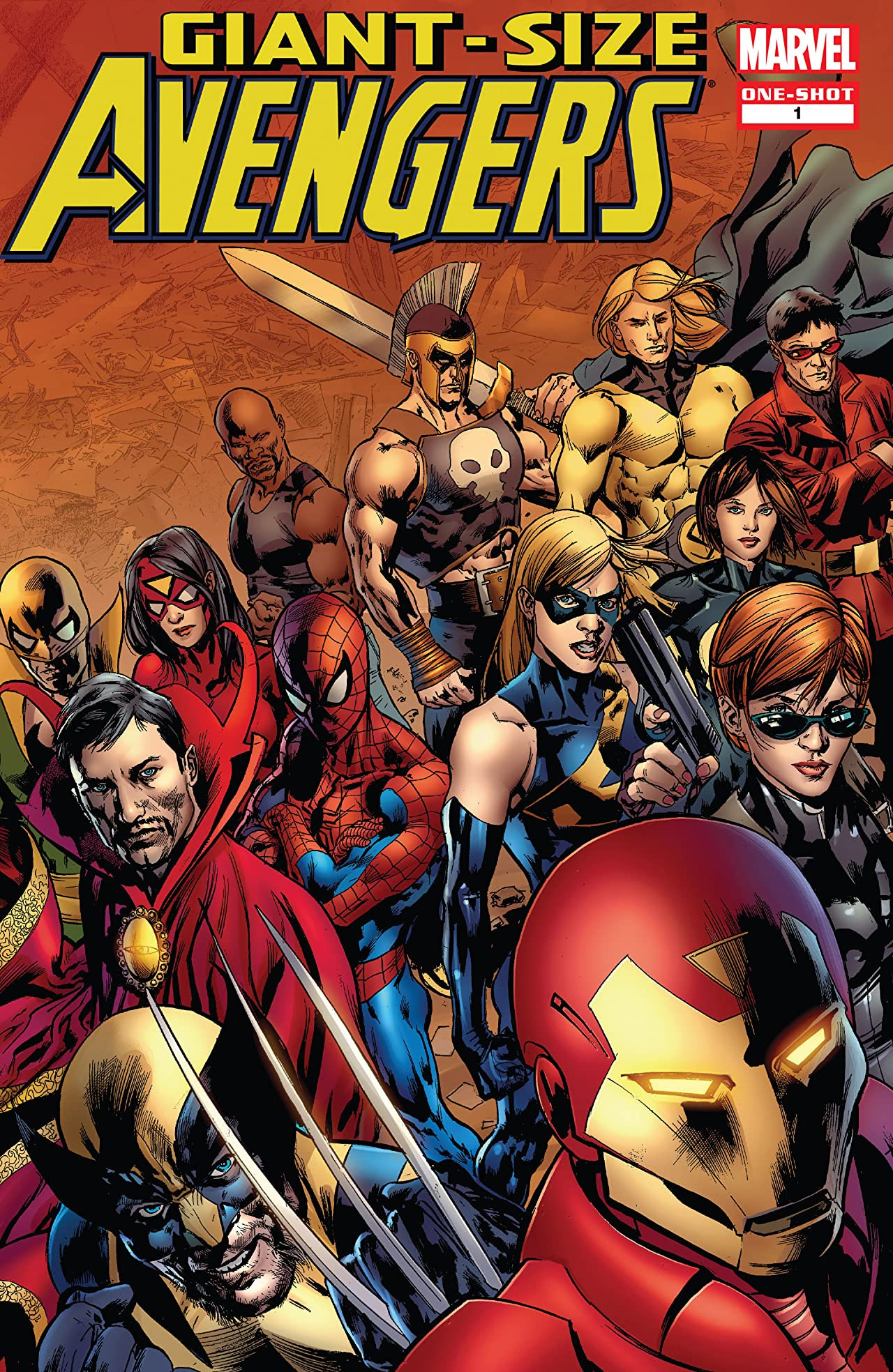 Giant-Size Avengers Vol 2