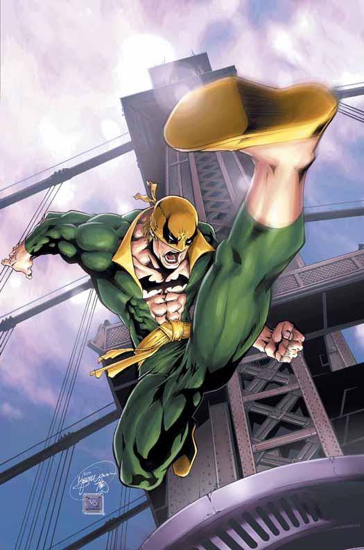 Iron Fist's Suit