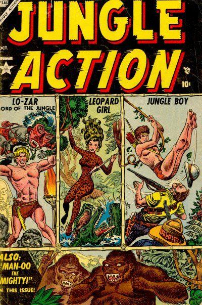 Jungle Action Vol 1 1