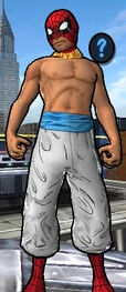 Kung Fu Spider-Man (Peter Parker) from Spider-Man Unlimited (Video Game) 0001.jpg