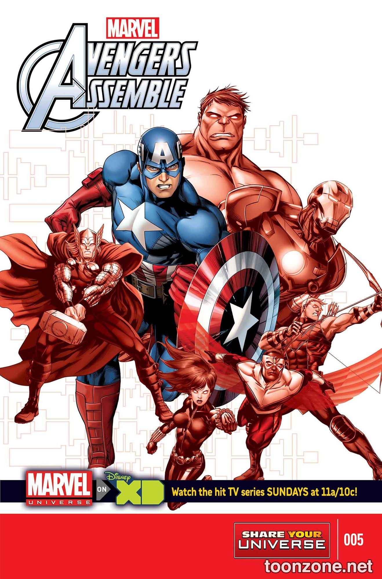 Marvel Universe: Avengers Assemble Vol 1 5
