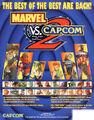 Marvel vs Capcom 2 flyer