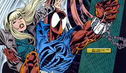 Peter Parker (Earth-616) and Joyce Delaney (Earth-616) from Web of Spider-Man Vol 1 125 001