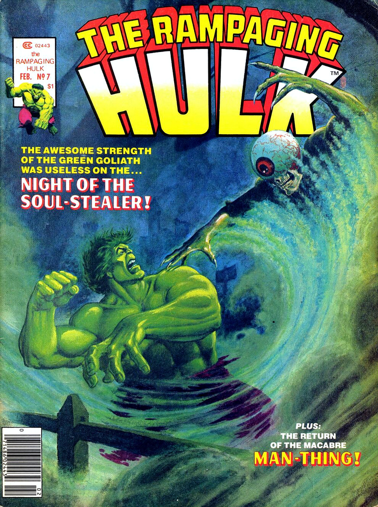 Rampaging Hulk Vol 1 7