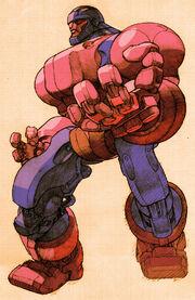 Sentinel Model COTA-94 (Earth-30847) from Marvel vs. Capcom 2- New Age of Heroes 001.jpg