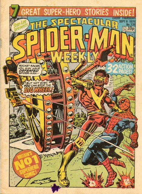 Spectacular Spider-Man Weekly Vol 1 339