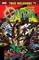True Believers Annihilation - Quasar Vol 1 1