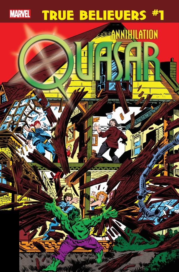 True Believers: Annihilation - Quasar Vol 1 1