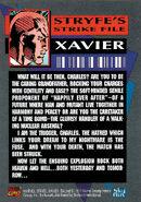 Uncanny X-Men Vol 1 294 trading card back
