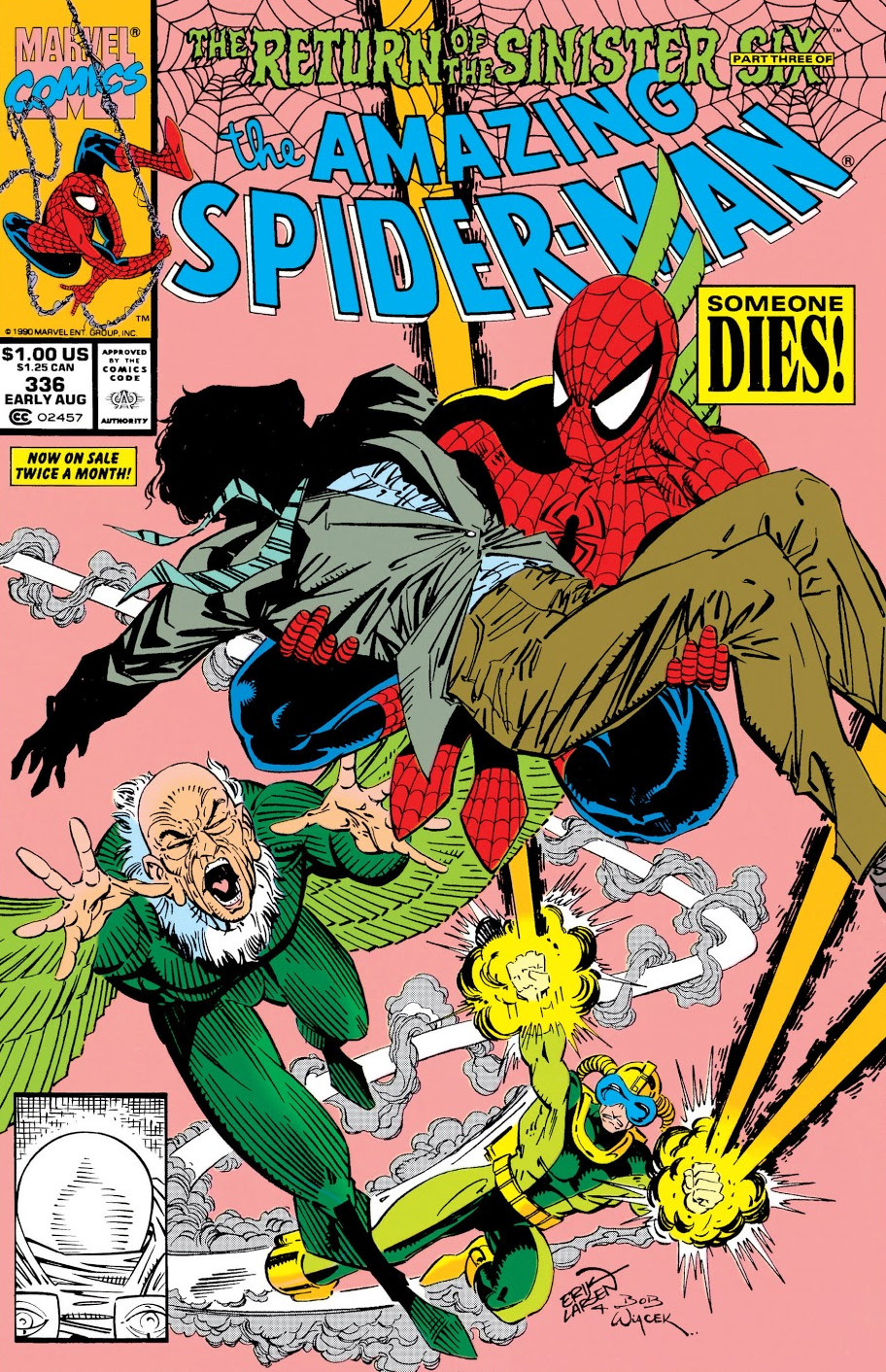 Amazing Spider-Man Vol 1 336
