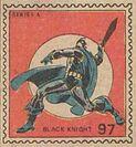 Black Knight Marvel Value Stamp