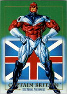 Brian Braddock (Earth-616) from Marvel Masterpieces Trading Cards 1992 0001