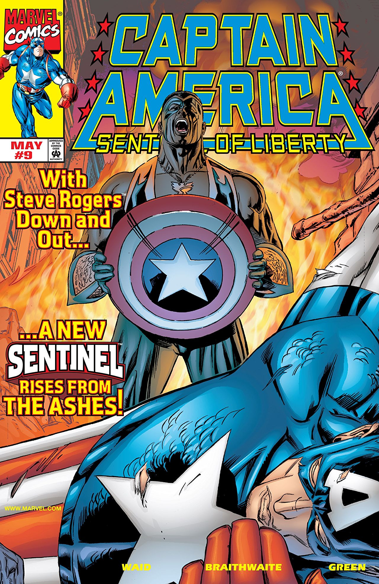 Captain America: Sentinel of Liberty Vol 1 9