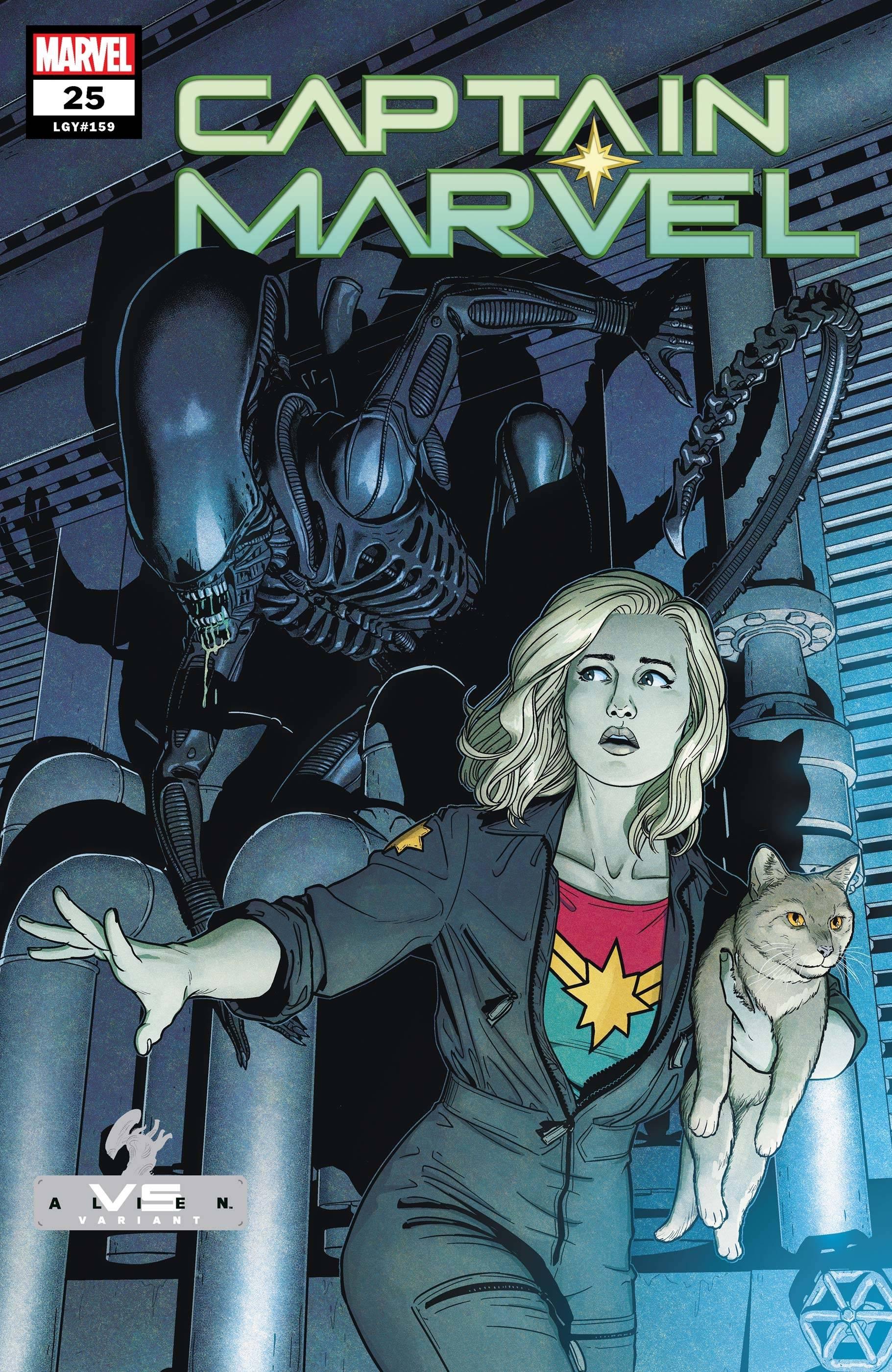 Captain Marvel Vol 10 25 Marvel vs. Alien Variant.jpg