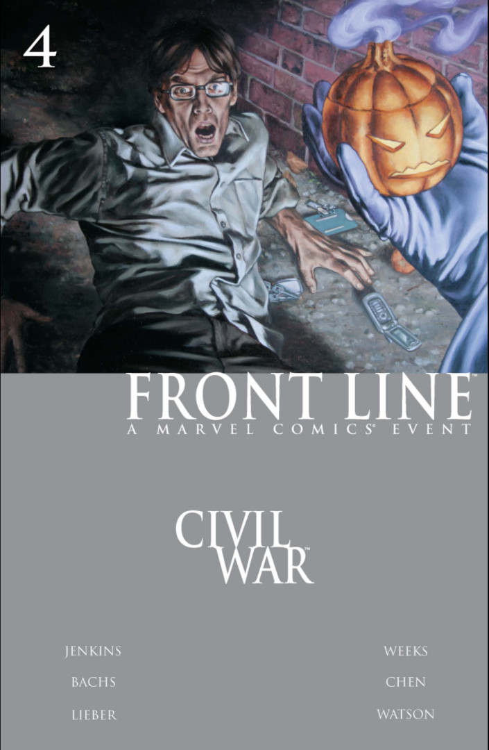 Civil War: Front Line Vol 1 4